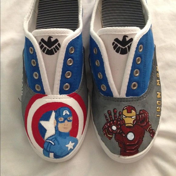 Shoes | Avengers Custom Made Shoes Done