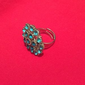 Accessories - Teal Adjustable Ring