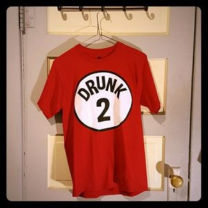 Tops - Red Drunk 2 T shirt