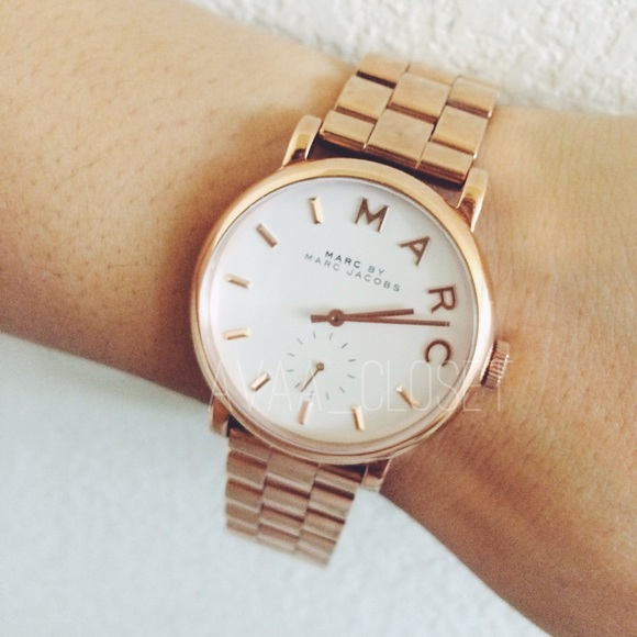 marc by marc jacobs accessories watch rose gold baker