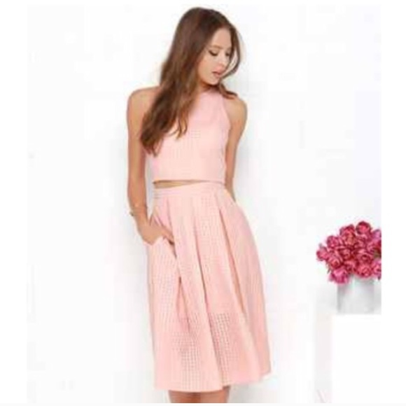 02ee1d3f3e042 Lulu s Dresses   Skirts - Lulus two piece crop top and ...