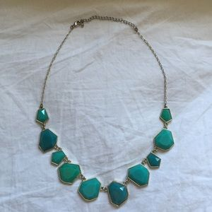 Teal/Turquoise Statement Necklace