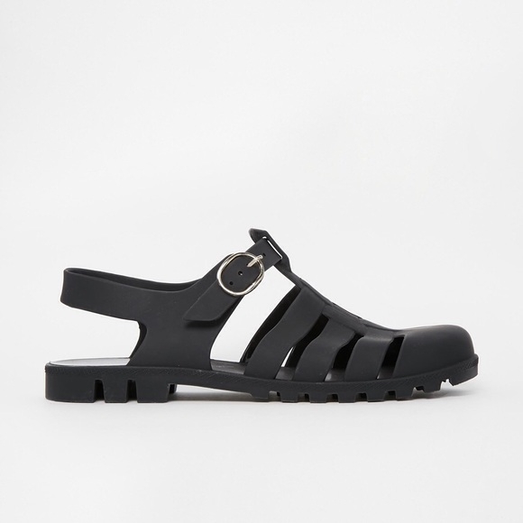 67258c187656 ASOS Shoes - ASOS FORESURE Jelly Gladiator Sandals