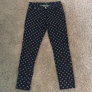 C Wonder Skinny Jeans (Hearts White and Red)