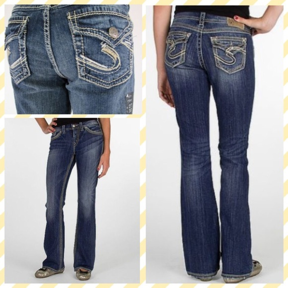 77% off Silver Jeans Denim - Suki surplus Silver jeans 27 x 34
