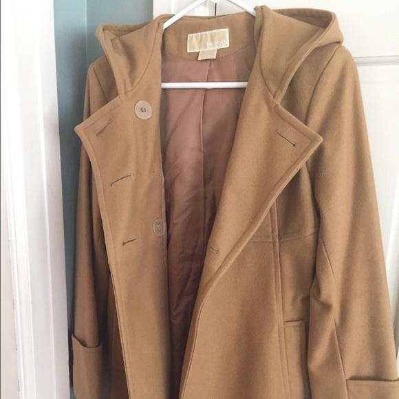 michael kors michael kors wool winter coat from pam 39 s closet on poshmark. Black Bedroom Furniture Sets. Home Design Ideas