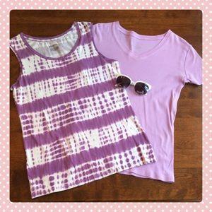 SUMMER SALE🌞 2 Purple Merona TOPS !