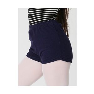 American Apparel Pants - AA Rigid Corduroy High-Waist Short XS