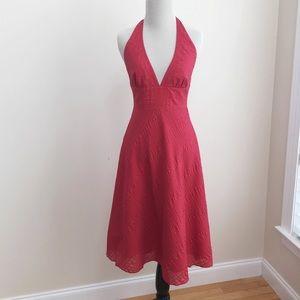 J. CREW | Cotton Halter Dress