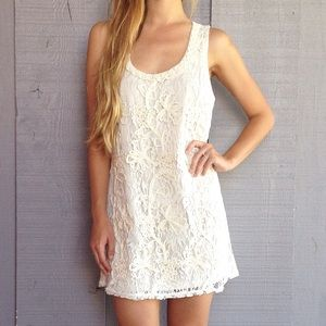 | new | crochet lace dress