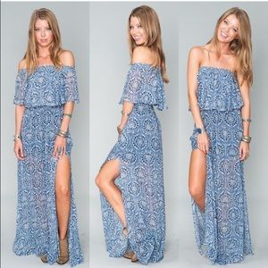 Show me your mumu maxi dress - xs