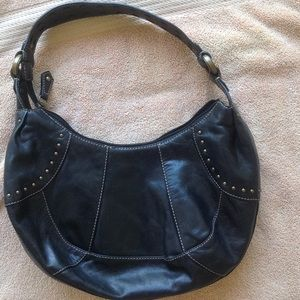 Reduced Fossil  black purse
