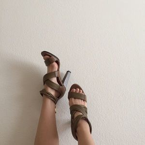DvF Ilias strapped sandals
