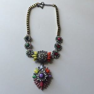 Boutique Jewelry - ⭐️Rainbow crystal statement necklace