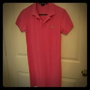 Pink Ralph Lauren Polo Dress