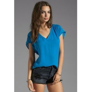 Joie royal blue top