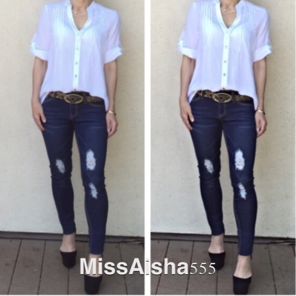 60% off Denim - New lightly distress jeans from Evelyne's closet ...