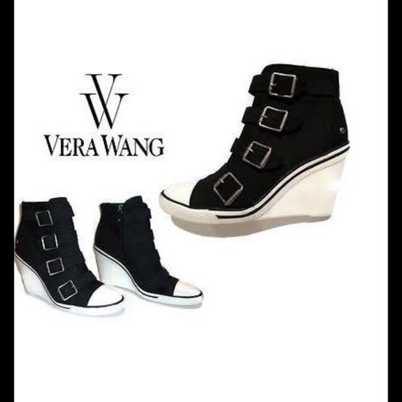 60c1f3ec6099 Simply vera wang shoes simply verahitop buckle wedge sneaker jpg 580x580 Vera  wang wedges shoes