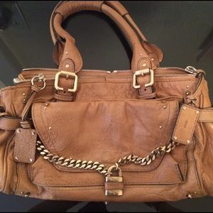 Chloe Leather Paddington Capsule Satchel Handbag