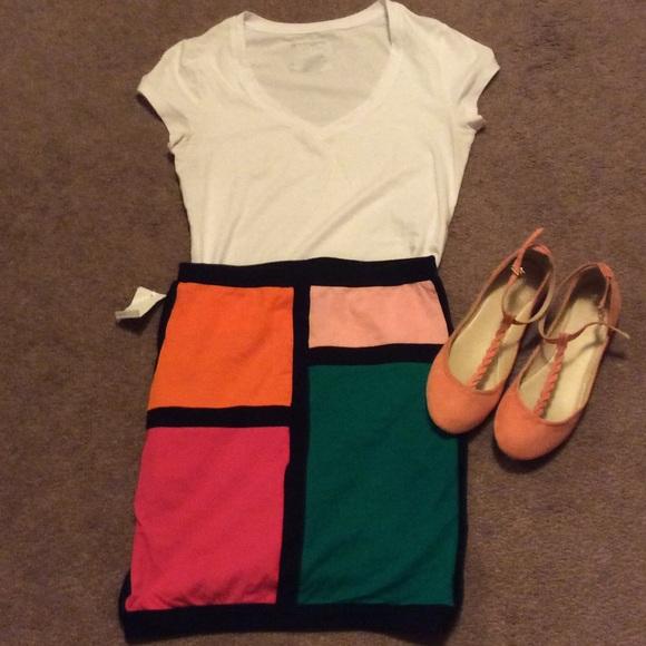 Bodycon skirt.