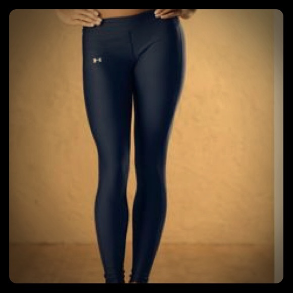 71% off Under Armour Pants - Navy Blue Under Armour Yoga Pants ...