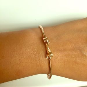 Kate Spade authentic rose gold bow bracelet