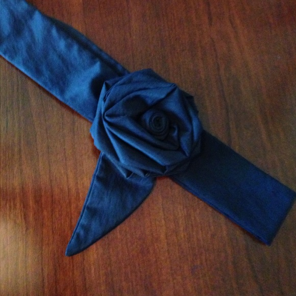 Anthropologie Accessories - Anthropologie Black  Fabric Belt