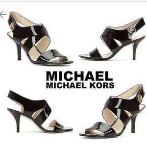 6aa275bc81a15 MICHAEL Michael Kors Shoes - MICHAEL Michael Kors Navy Joselle Open-Toe  Sandal