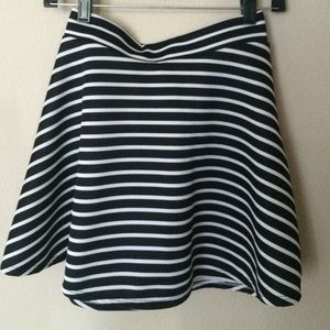 Charlotte Russe Dresses & Skirts - Charlotte Russe Striped Skater Skirt