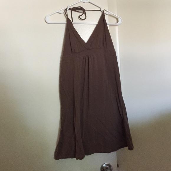 Aeropostale Dresses & Skirts - Brown summer halter dress