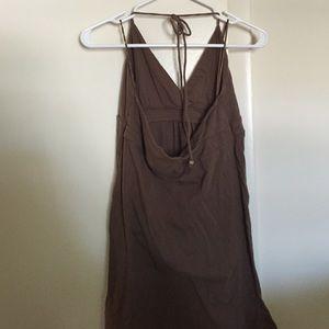 Aeropostale Dresses - Brown summer halter dress