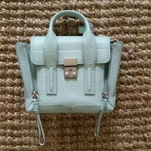 3.1 Phillip Lim Handbags - 3.1 Phillip Lim Mini Pashli Satchel - Mint