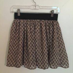 Forever 21 pleated skirt!