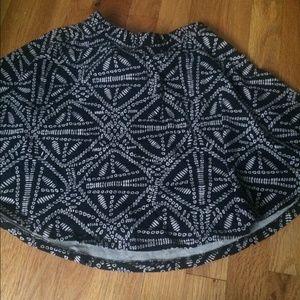 Fun Pattern Skater Skirt!