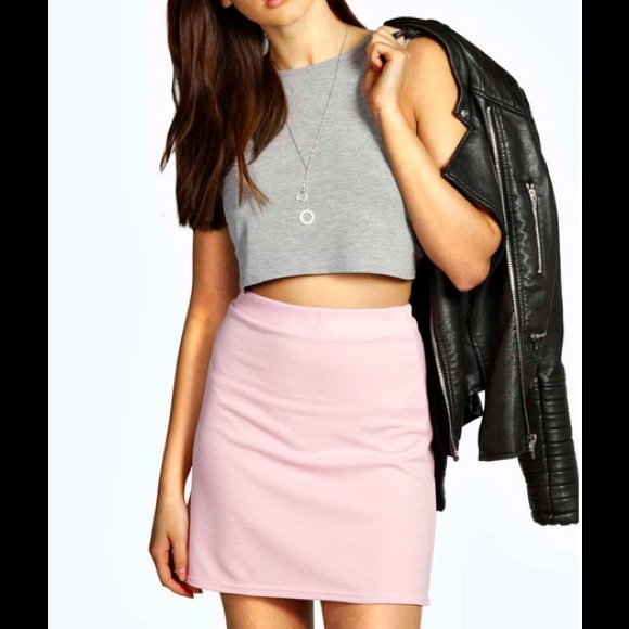 50% off Boohoo Dresses & Skirts - Boohoo Blush Mini Skirt from ...