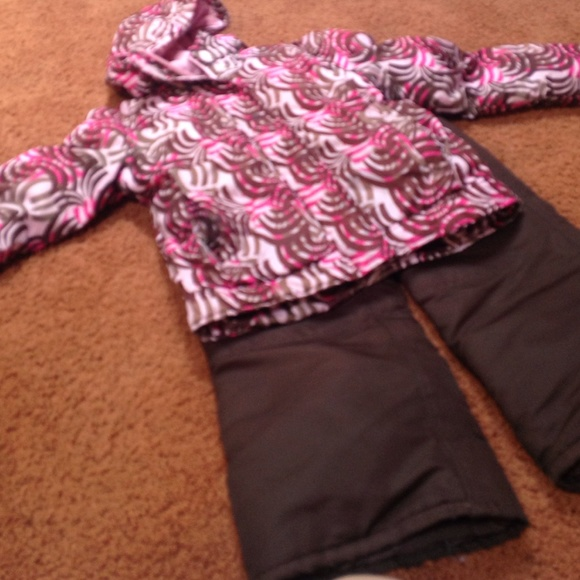 85% off Cherokee Outerwear - Girls Winter coat and matching snow