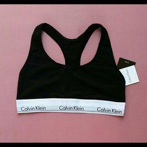 Calvin Klein Tops - CK Black Bralette