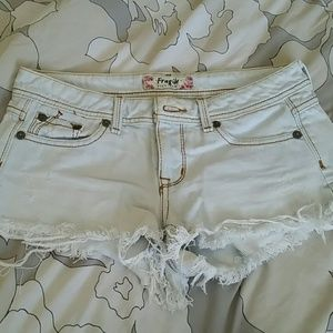 Other - Destroyed jean shorts sz 7