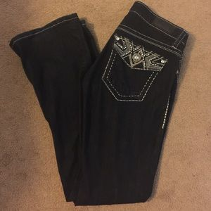 Daytrip bling Leo bootcut jeans