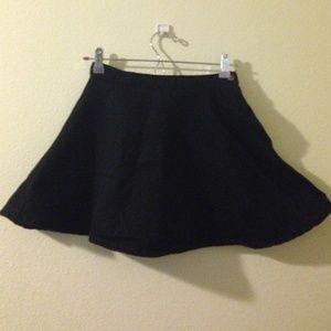 natural denim AA circle skirt