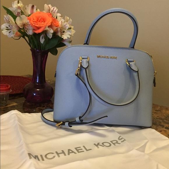 6370087fff0e Michael Kors Bags   Final Price Cindy Dome Satchel   Poshmark