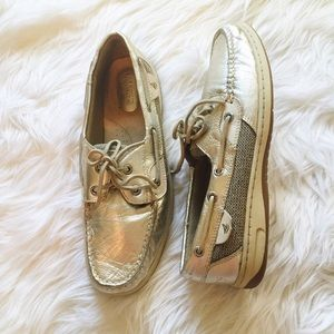 Sperry Top-Sider Shoes - Sperry Top-Sider Bluefish Metallic Boat Shoe