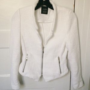 Zara Trafaluc Collection White Blazer Jacket
