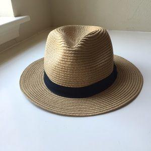 Fedora style Straw Hat