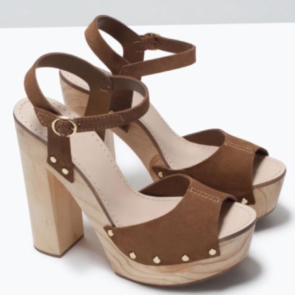 f2e7c2dcf2dc Zara studded high heels sandals ❤️