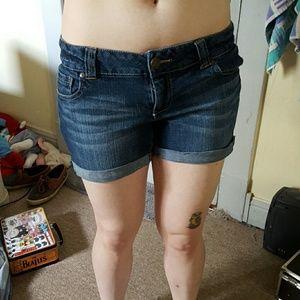 Celebrity Pink Denim - Denim cutoff shorts