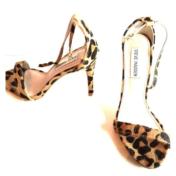 e3c21d3552d Steve Madden Stecy Heel in leopard print! M 55be92f22a75354dd70135a8