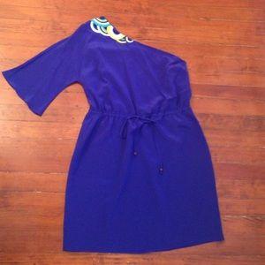 Very cute Trina Turk one-shoulder dress size 10