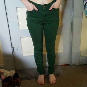 lulumari Pants - High waisted cotton jeans
