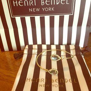 henri bendel Semi Precious Wrap Cuff Bracelet